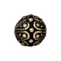 Tierra Cast Metal 1 Adet 7X7.25 Mm Altın Rengi Oval Boncuk - 94-5626-27
