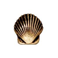 Tierra Cast Metal 1 Adet 9X8.5 Mm Altın Rengi Deniz Kabuğu Boncuk - 94-5682-26