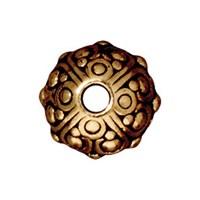 Tierra Cast Metal 1 Adet 7.75X10 Mm Altın Rengi Metal Aksesuar Boncuk - 94-5716-26