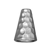 Tierra Cast Hammertone 1 Adet 12.5X9.25 Mm Gümüş Rengi Huni Kapama - 94-5736-61