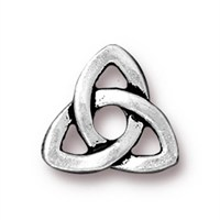 Tierra Cast Rivetable 1 Adet 10.5 Mm Gümüş Rengi Celtic Takı Ara Aksesuarı - 94-5796-12