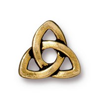 Tierra Cast Rivetable 1 Adet 10.5 Mm Altın Rengi Celtic Takı Ara Aksesuarı - 94-5796-26