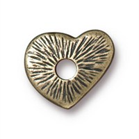 Tierra Cast Rivetable 1 Adet 12.7 Mm Altın Rengi Kalp Takı Ara Aksesuarı - 94-5797-27