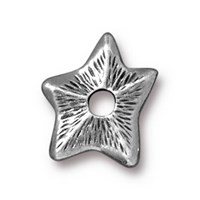 Tierra Cast Rivetable 1 Adet 14.1 Mm Gümüş Rengi Yıldız Takı Ara Aksesuarı - 94-5798-40
