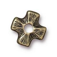 Tierra Cast Rivetable 1 Adet 11.0 Mm Altın Rengi Çarpı Takı Ara Aksesuarı - 94-5799-27