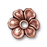Tierra Cast Rivetable 1 Adet 14 Mm Bakır Rengi Çiçek Takı Ara Aksesuarı - 94-5801-18