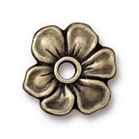 Tierra Cast Rivetable 1 Adet 14 Mm Altın Rengi Çiçek Takı Ara Aksesuarı - 94-5801-27
