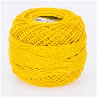 Ören Bayan Koton Perle No:8 Ayrık Sarı El Nakış İpliği - 4005