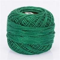 Ören Bayan Koton Perle No:8 Mat Yeşil El Nakış İpliği - 986