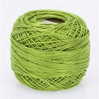 Ören Bayan Koton Perle No:8 Limon Yeşili El Nakış İpliği - 671