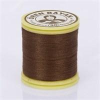Ören Bayan Koyu Kahverengi Polyester Dikiş İpliği - 317