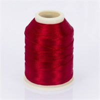 Altınbaşak Koyu Kırmızı 20 Gr Polyester Dantel İpliği - 328