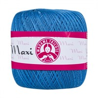 Ören Bayan Maxi Mavi Dantel İpi - 4913
