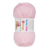 Kartopu Woolly Baby Toz Pembe Bebek Yünü - K782