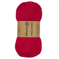 Kartopu Natural Cotton Pembe El Örgü İpi - 21285