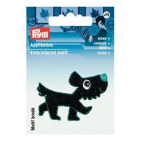 Prym Siyah Köpek Desenli Aplike - 923142