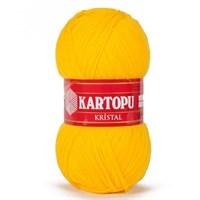 Kartopu Kristal Hardal Sarısı El Örgü İpi - K320