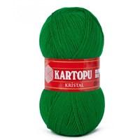 Kartopu Kristal Zümrüt Yeşili El Örgü İpi - K416