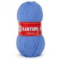 Kartopu Kristal Açık Mavi El Örgü İpi - K535