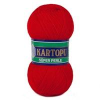 Kartopu Süper Perle Kırmızı El Örgü İpi - K150