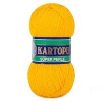 Kartopu Süper Perle Hardal Sarısı El Örgü İpi - K320