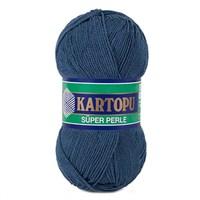 Kartopu Süper Perle Koyu Mavi El Örgü İpi - K650