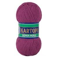 Kartopu Süper Perle Mor El Örgü İpi - K736