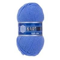 Kartopu Kar-Sim Açık Mavi El Örgü İpi - K535