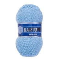 Kartopu Kar-Sim Açık Mavi El Örgü İpi - K540
