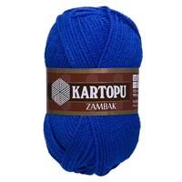 Kartopu Zambak Mavi El Örgü İpi - K627