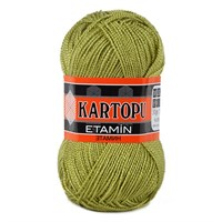 Kartopu Etamin Yeşil El Örgü İpi - K442