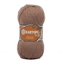 Kartopu Sera Kahverengi El Örgü İpi - K885