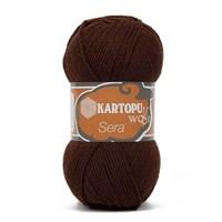 Kartopu Sera Kahverengi El Örgü İpi - K890
