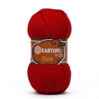 Kartopu Sera Kırmızı El Örgü İpi - K170