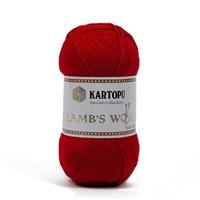 Kartopu Lamb's Wool Kırmızı El Örgü İpi - K112