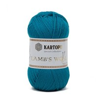 Kartopu Lamb's Wool Mavi El Örgü İpi - K542