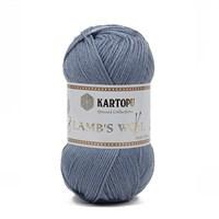 Kartopu Lamb's Wool Mavi El Örgü İpi - K645