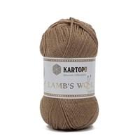 Kartopu Lamb's Wool Bej El Örgü İpi - K869