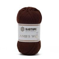 Kartopu Lamb's Wool Koyu Kahverengi El Örgü İpi - K890