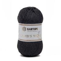 Kartopu Lamb's Wool Gri El Örgü İpi - K1004