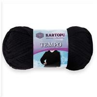 Kartopu Tempo Siyah El Örgü İpi - K940