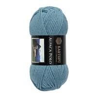 Kartopu Alpaca Polo Mavi El Örgü İpi - K644