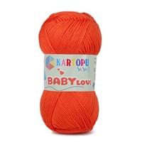 Kartopu Baby Love Turuncu Bebek Yünü - K211