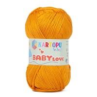 Kartopu Baby Love Turuncu Bebek Yünü - K315