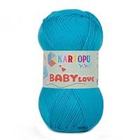 Kartopu Baby Love Mavi Bebek Yünü - K515