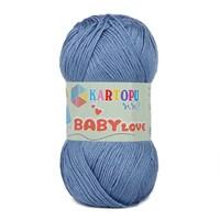 Kartopu Baby Love Mavi Bebek Yünü - K534