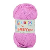 Kartopu Baby Love Pembe Bebek Yünü - K807