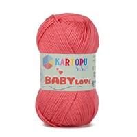 Kartopu Baby Love Pembe Bebek Yünü - K810
