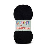 Kartopu Baby Love Siyah Bebek Yünü - K940