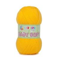 Kartopu Baby Soft Hardal Sarısı Bebek Yünü - K322